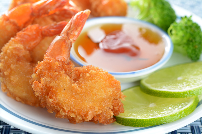 Pina Colada Shrimp with Pineapple Chipotle Dipping Sauce