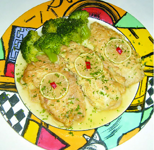 Snapper Francaise Recipe from Marathon's acclaimed Frank's Restaurant