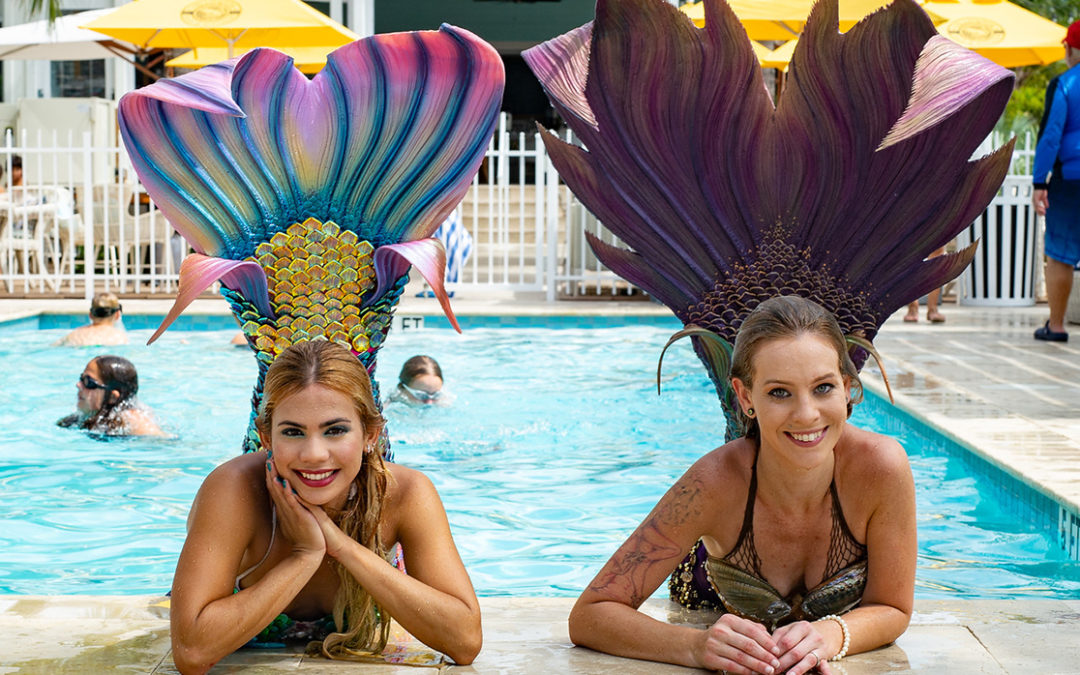 Mermaid Madness! Mermaid Festival Makes A Splash in Key West