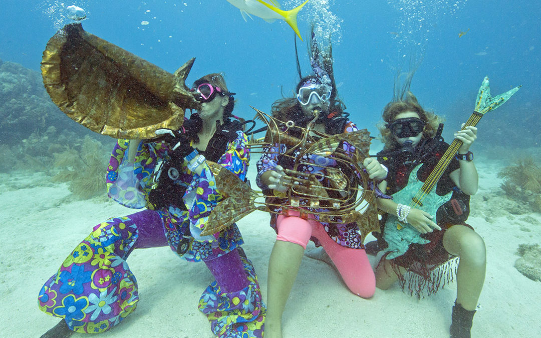 Fins Up! The 35th Annual Underwater Music Festival