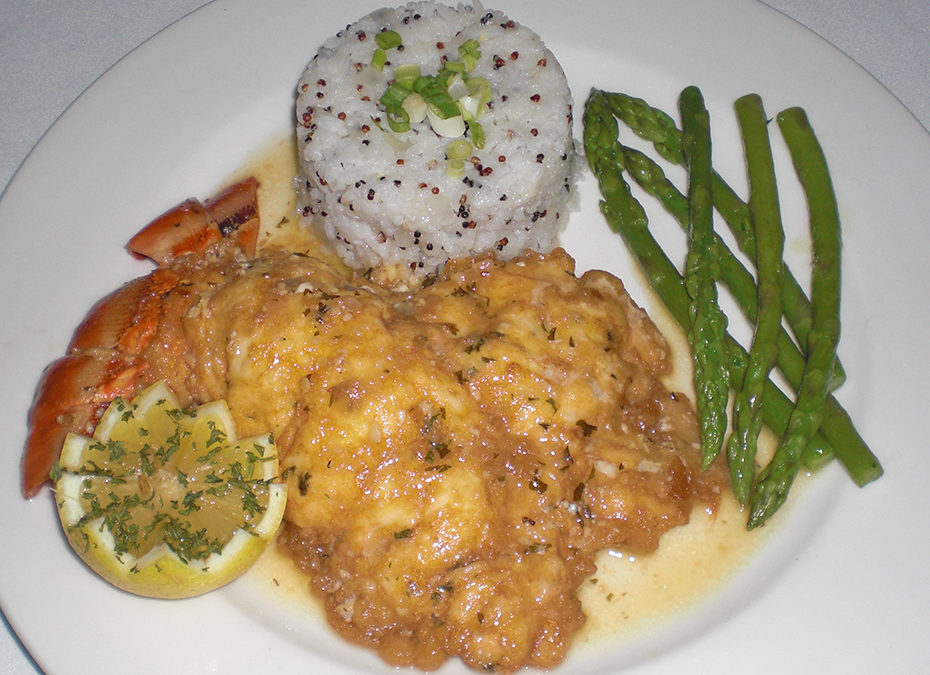 Lobster Francaise by Chef Tony Corallo, Movable Feast Catering & Food Truck