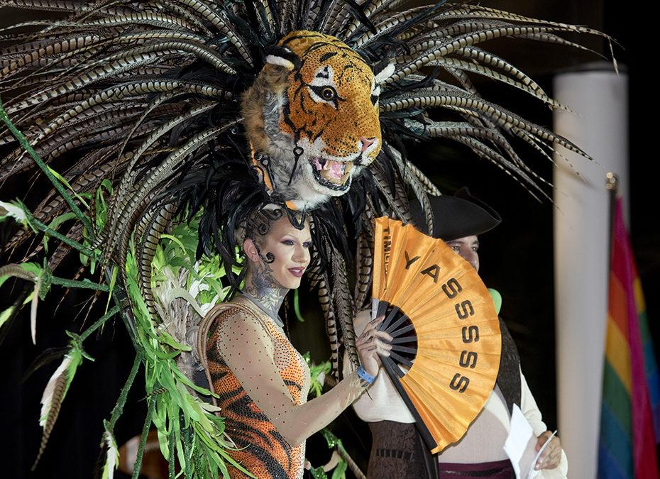 Key West headdress ball