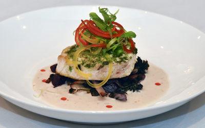 Scrummy Cilantro-Seared Swordfish Recipe From Tavern N' Town