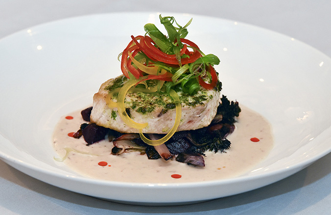 Scrummy Cilantro-Seared Swordfish Recipe From Tavern N' Town