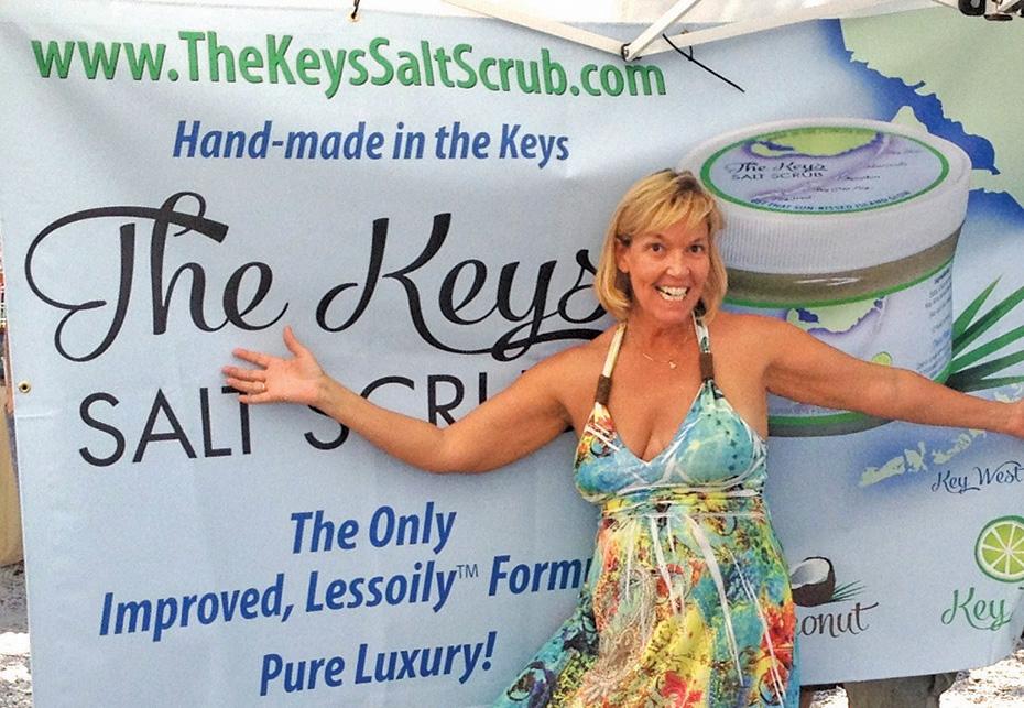 This Is It! The Genuine Keys Salt Scrub