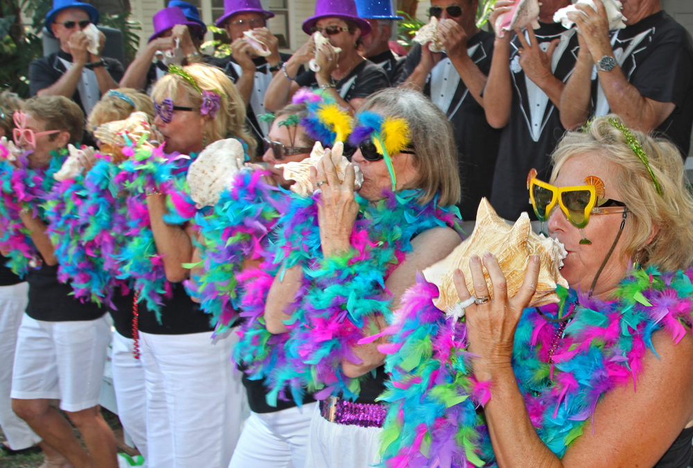 Pucker Up Buttercup! 58th Annual Conch Blowing Contest