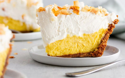 Easy Peasy Creamy Mango Pie