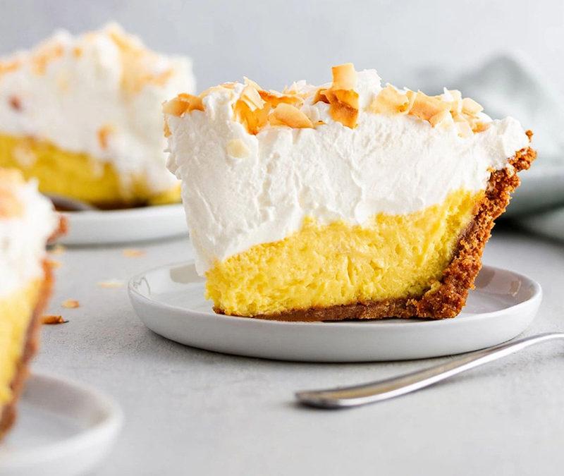 Easy Peasy Creamy Mango Pie