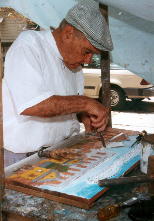 artist Mario Sanchez